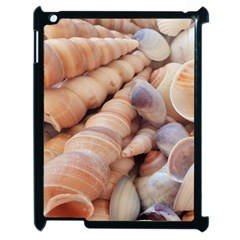Sea Shells Apple Ipad 2 Case (black) by yoursparklingshop