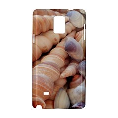 Sea Shells Samsung Galaxy Note 4 Hardshell Case by yoursparklingshop