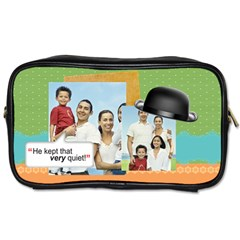 Dad By Dad   Toiletries Bag (two Sides)   J3jd058wwvw6   Www Artscow Com Front