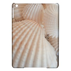 Sunny White Seashells Apple Ipad Air Hardshell Case by yoursparklingshop