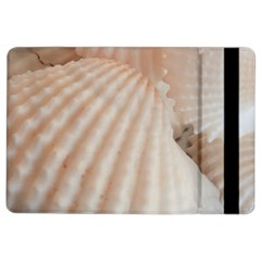 Sunny White Seashells Apple Ipad Air 2 Flip Case by yoursparklingshop