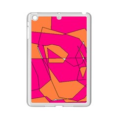 Red Orange 5000 Apple iPad Mini 2 Case (White) by yoursparklingshop