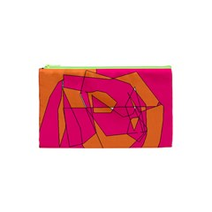 Red Orange 5000 Cosmetic Bag (XS) by yoursparklingshop