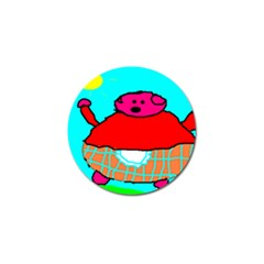 Sweet Pig Knoremans, Art By Kids Golf Ball Marker 10 Pack by yoursparklingshop