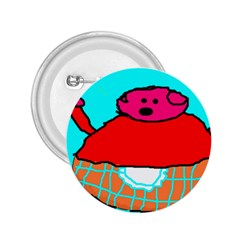 Sweet Pig Knoremans, Art By Kids 2 25  Button by yoursparklingshop
