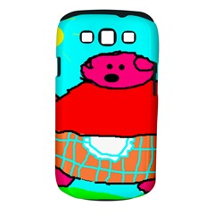 Sweet Pig Knoremans, Art By Kids Samsung Galaxy S Iii Classic Hardshell Case (pc+silicone) by yoursparklingshop