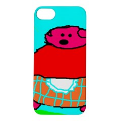 Sweet Pig Knoremans, Art By Kids Apple Iphone 5s Hardshell Case by yoursparklingshop