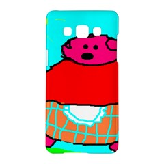 Sweet Pig Knoremans, Art By Kids Samsung Galaxy A5 Hardshell Case  by yoursparklingshop