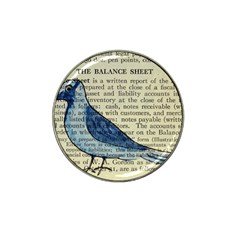Bird Golf Ball Marker 4 Pack (for Hat Clip) by boho