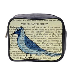 Bird Mini Travel Toiletry Bag (two Sides) by boho