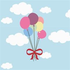 Balloons Canvas 12  X 12  (unframed) by Kathrinlegg