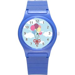 Balloons Plastic Sport Watch (small) by Kathrinlegg