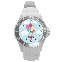 Balloons Plastic Sport Watch (large) by Kathrinlegg