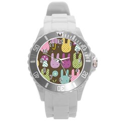 Bunny  Plastic Sport Watch (large) by Kathrinlegg