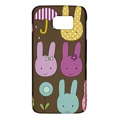 Bunny  Samsung Galaxy S6 Hardshell Case  by Kathrinlegg