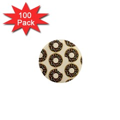 Donuts 1  Mini Button Magnet (100 Pack) by Kathrinlegg
