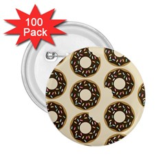 Donuts 2 25  Button (100 Pack) by Kathrinlegg