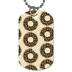 Donuts Dog Tag (one Sided) by Kathrinlegg