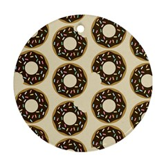 Donuts Round Ornament (two Sides) by Kathrinlegg