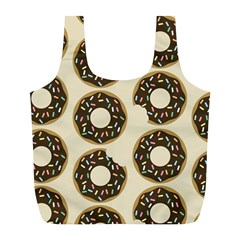 Donuts Reusable Bag (l) by Kathrinlegg
