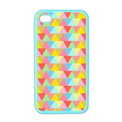 Triangle Pattern Apple Iphone 4 Case (color) by Kathrinlegg