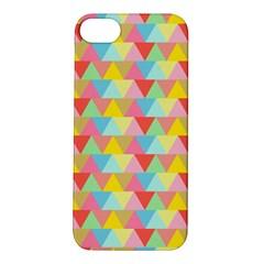 Triangle Pattern Apple Iphone 5s Hardshell Case by Kathrinlegg