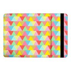 Triangle Pattern Samsung Galaxy Tab Pro 10 1  Flip Case