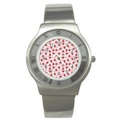 Spot The Ladybug Stainless Steel Watch (slim) by Kathrinlegg