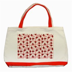 Spot the Ladybug Classic Tote Bag (Red) by Kathrinlegg