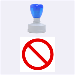No symbol rubber stamp by spelrite