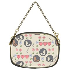 Love Birds Chain Purse (two Sided)  by Kathrinlegg