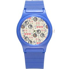 Love Birds Plastic Sport Watch (small) by Kathrinlegg