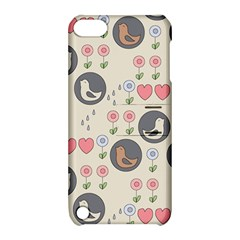 Love Birds Apple Ipod Touch 5 Hardshell Case With Stand by Kathrinlegg