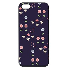 Summer Garden Apple Iphone 5 Seamless Case (black) by Kathrinlegg