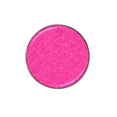 Abstract Stars In Hot Pink Golf Ball Marker (for Hat Clip) by StuffOrSomething
