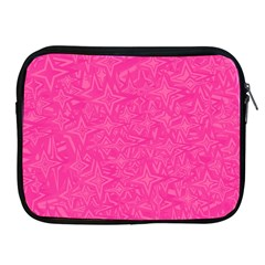 Abstract Stars In Hot Pink Apple iPad Zippered Sleeve by StuffOrSomething