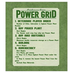Power Grid Bags (m)   Green By Andrew   Drawstring Pouch (medium)   8n7wzg348qh5   Www Artscow Com Front