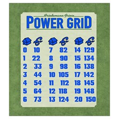 Power Grid Bags (m)   Blue By Andrew   Drawstring Pouch (medium)   Nqa64pxqzudl   Www Artscow Com Back