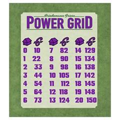 Power Grid Bags (m)   Purple By Andrew   Drawstring Pouch (medium)   Dw4yk81ejntg   Www Artscow Com Back