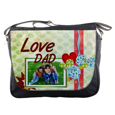 Dad By Dad   Messenger Bag   Rka1otta0i7a   Www Artscow Com Front