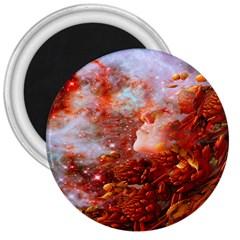 Star Dream 3  Button Magnet by icarusismartdesigns