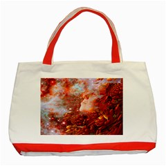 Star Dream Classic Tote Bag (red) by icarusismartdesigns