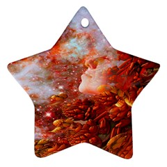 Star Dream Star Ornament (two Sides) by icarusismartdesigns