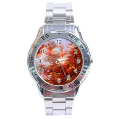 Star Dream Stainless Steel Watch by icarusismartdesigns