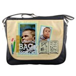 back to school - Messenger Bag