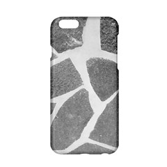 Grey White Tiles Pattern Apple iPhone 6 Hardshell Case by yoursparklingshop