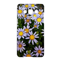 Yellow White Daisy Flowers Samsung Galaxy A5 Hardshell Case  by yoursparklingshop