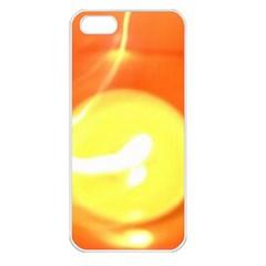 Orange Yellow Flame 5000 Apple Iphone 5 Seamless Case (white) by yoursparklingshop