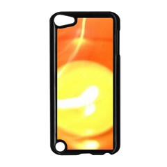 Orange Yellow Flame 5000 Apple Ipod Touch 5 Case (black) by yoursparklingshop