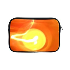 Orange Yellow Flame 5000 Apple Ipad Mini Zippered Sleeve by yoursparklingshop